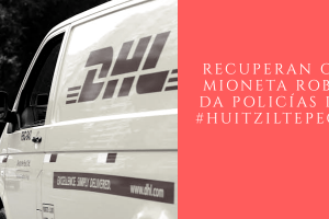 Policías de Huitziltepec detienen asaltante de camiones y recuperan carga