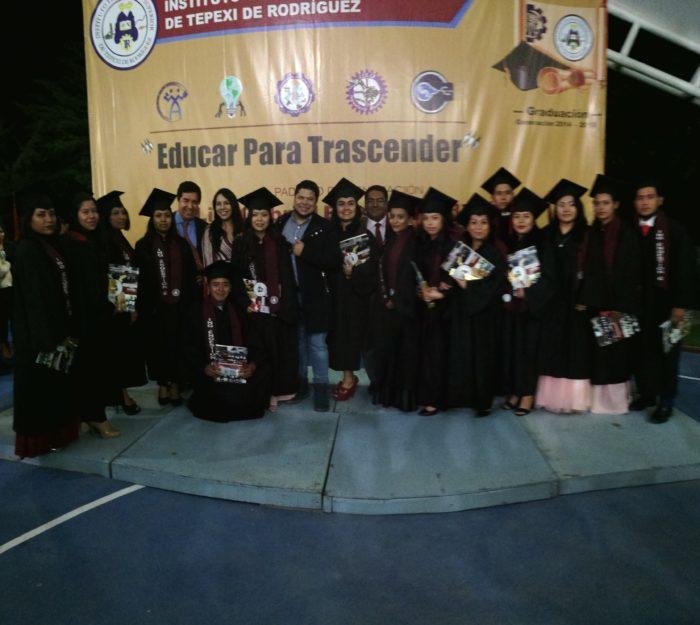 60 NUEVOS INGENIEROS Y LICENCIADOS SE GRADÚAN EN EL TEC DE TEPEXI